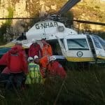 MR and air ambulance