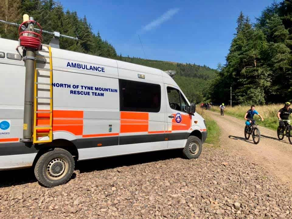 Mountain Rescue Control Vehicle