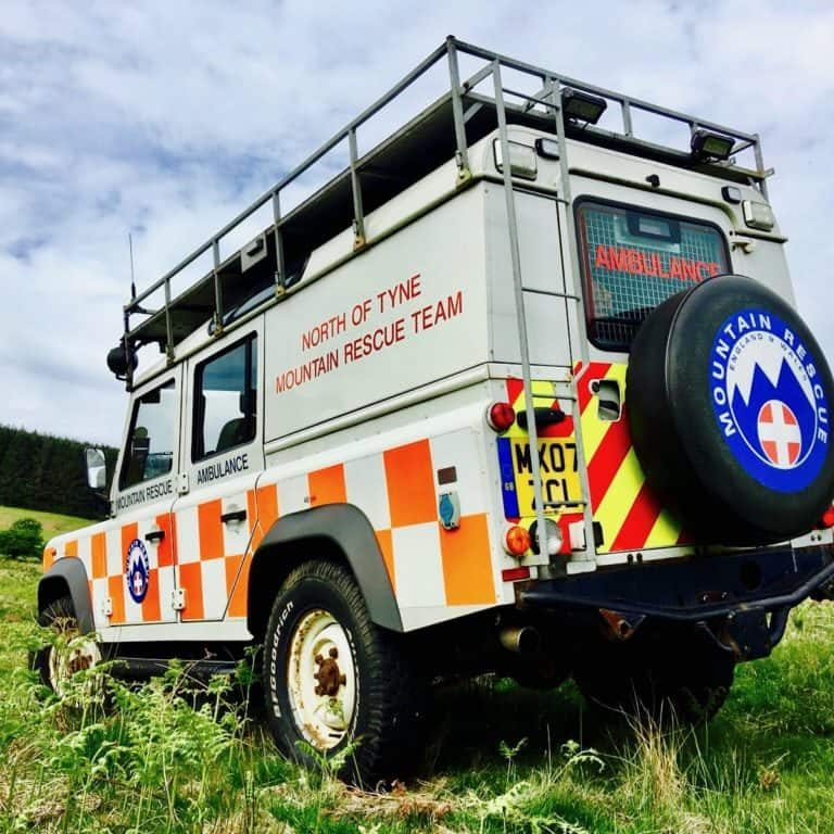 Mountain Rescue Landrover